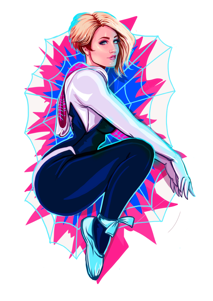 holly-wolf-spider-gwen-sticker
