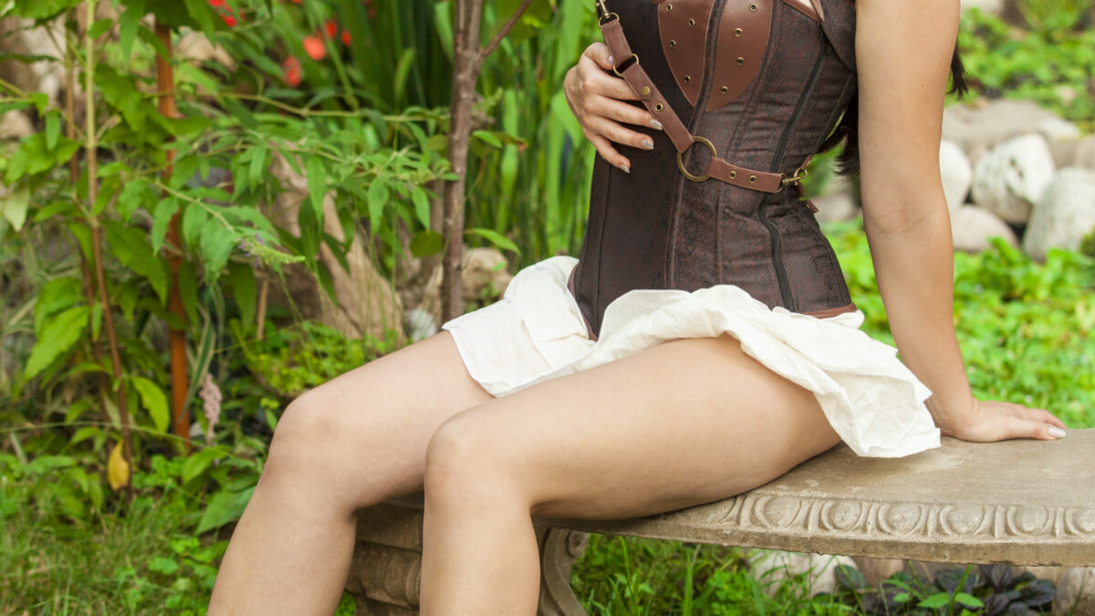 Holly-Wolf-Nude-Topless-Forest-Elf