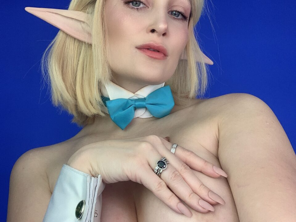 Holly-Wolf-Topless-Zelda-Bunny